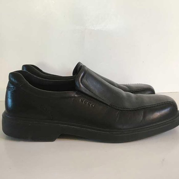 Ecco leather casual dress loafer men's 45 or US 11